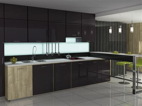 Custom Kitchen Cabinet Doors and More « Aluminum Glass