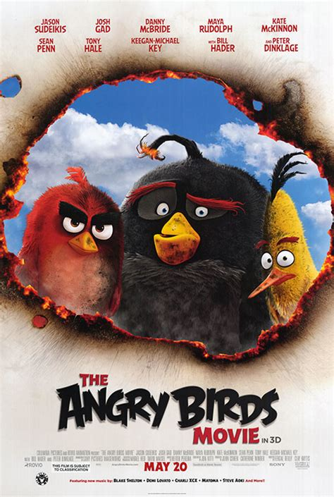 angry birds movie poster 18 of 27 imp awards angry birds movie movie posters at movie poster warehouse