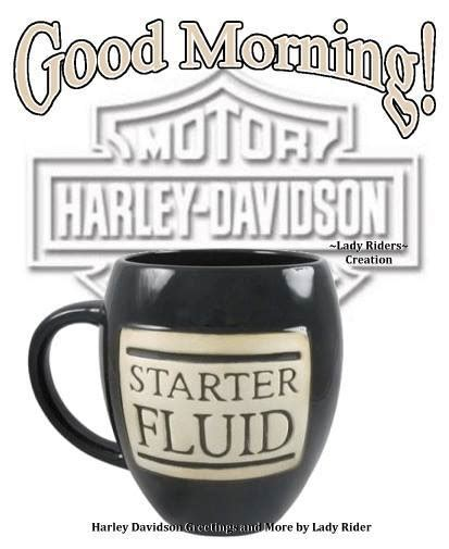 Harley Davidson Morning by Trending