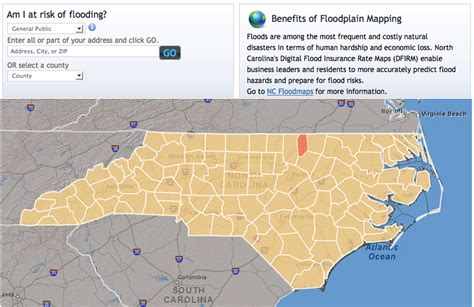 map geeks rejoice nc s flood risk map is here wunc