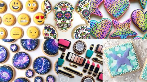 colorful cookies colorful cookies cookie decorating compilation by