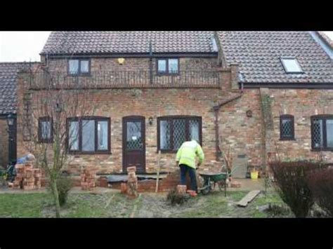 anglian windows conservatory being built timelapse
