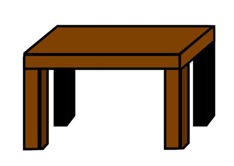 pictures of tables drawing a table