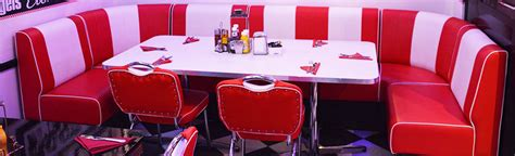 american diner bench seating american diner furniture contract quality for