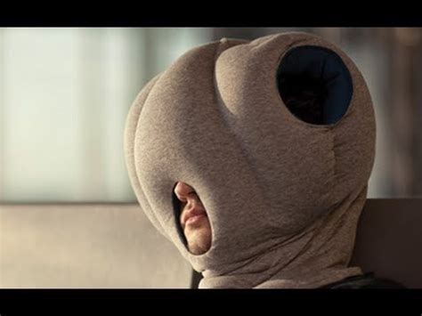 Nap Anywhere Pillow by Ostrich Pillow Allows You To Take Nap Anywhere