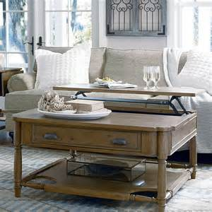 square lift top coffee table paula deen home visitin square oatmeal wood lift top