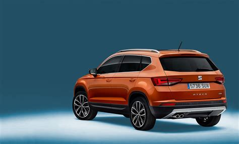 seat ateca 2016 corners like it s on trails seat ateca suv revealed car