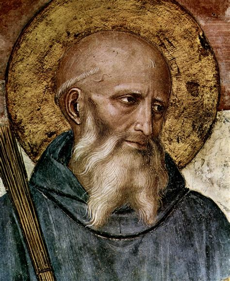 st benedict whenever you begin any work you sho by benedict of
