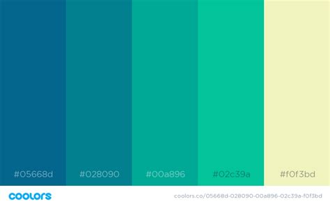 green color scheme 34 beautiful color palettes for your next design project