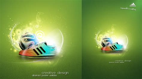 photoshop poster design youtube photoshop tutorial creative abstract adidas poster youtube