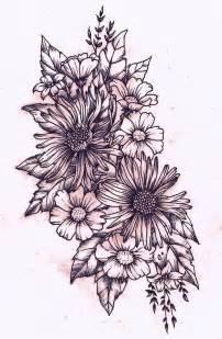 flower tattoo drawings 25 best ideas about wildflower tattoo on pinterest