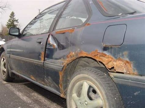 rusty car 5 ways to protect against rust car maintenance and car