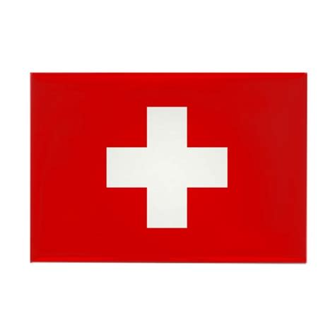 Rectangle Kitchen Design swiss cross flag rectangle magnet by tinyninjas