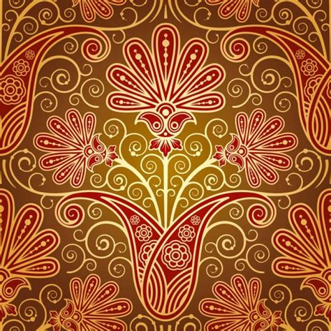paisley pattern vector free download set of pattern paisley elements vector 02 vector floral