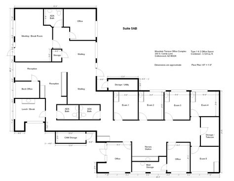 administration office floor plan administration office floor plan best plans space is