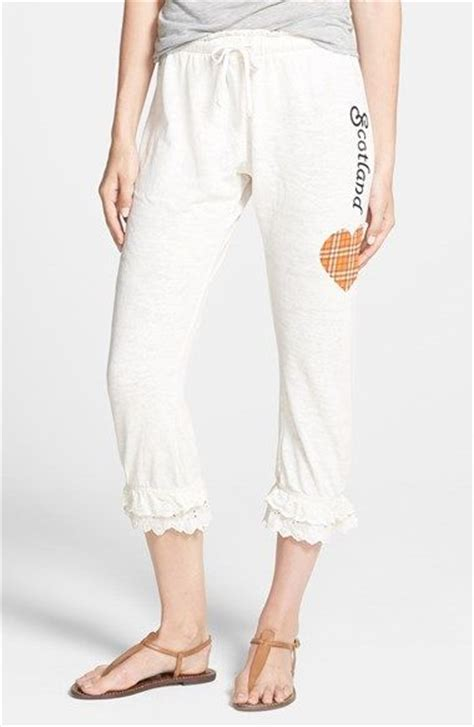 Hem Baturaden Pj 3 wildfox my scottish ruffle hem crop available at nordstrom i need these and