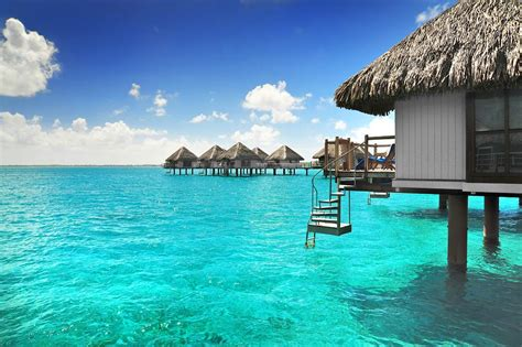 bora bora water bungalow overwater bungalow from photo gallery for le meridien