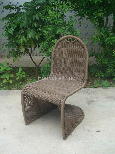 Hw816s Outdoor Patio Woven Rattan Wicker Chair Furniture Woven Wicker Patio Furniture