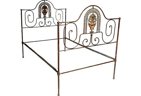 iron twin bed frame wrought iron twin bed frame