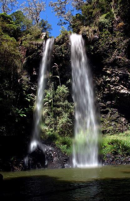twin falls springbrook national park australia