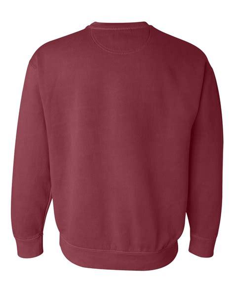 comfort colors crewneck sweatshirt comfort colors garment dyed ringspun crewneck sweatshirt