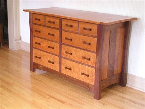 mission style chest  drawers plans   target