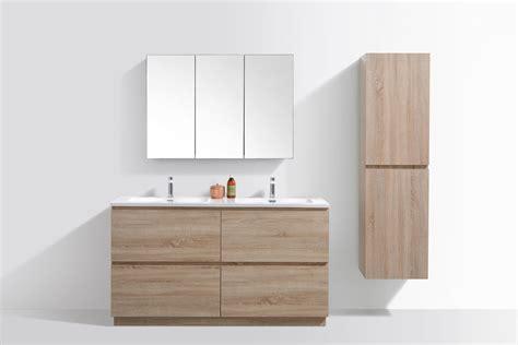 wall hung vanities vs freestanding vanities what s right