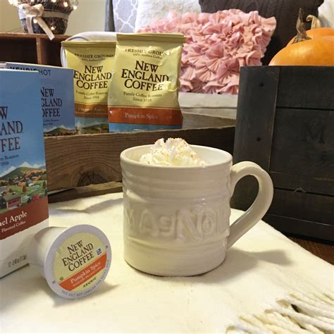 try new coffee flavors this fall giveaway closed fall home tour flavors of fall with new