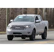 Spy Shots Ford Tests 2019 Ranger Pickup Truck Near
