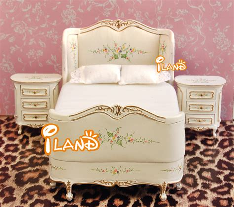 dollhouse bedroom furniture set iland 1 12 dollhouse victorian bedroom furniture set jamaica bed night stand 3 pcs in