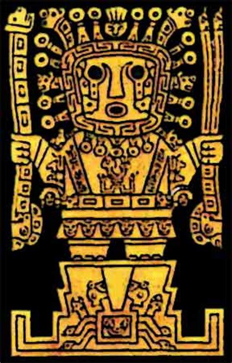 dio supremo degli incas culturas peruanas manifestaciones culturales tiahuanaco