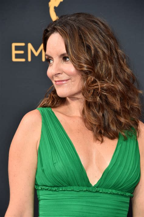 Tina Fey Hairstyle by Tina Fey Medium Curls Shoulder Length Hairstyles
