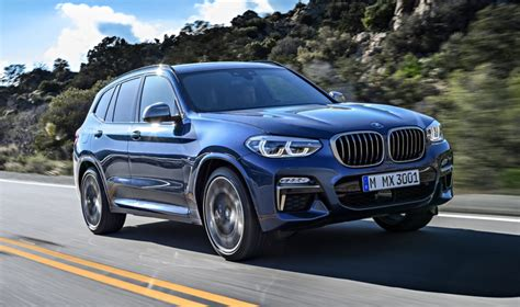 new bmw 2018 x3 2018 bmw x3 unveiled preview