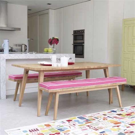 tables with benches for kitchens kitchen tables and benches kitchen sourcebook