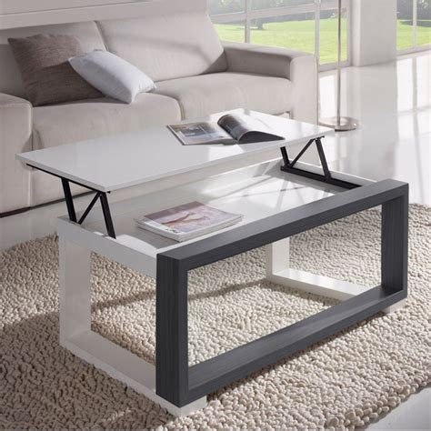 table basse grise pas cher affordable hton table basse