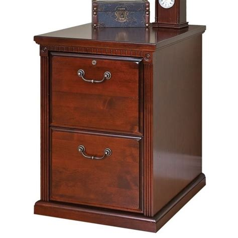 cherry file cabinet 2 drawer martin furniture huntington 2 drawer file cabinet in