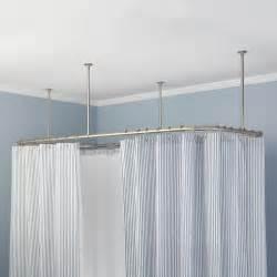 Ceiling Mount Curtain Rod » Home Design 2017