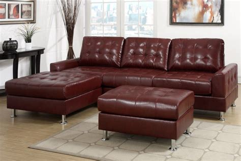 brown and red sofa modern classic burgundy red tufted sectional sofa