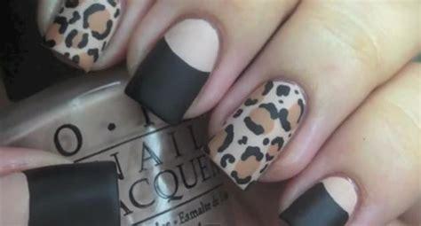 imagenes de uñas acrilicas de leopardo u 241 as leopardo mate
