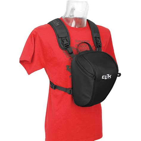 chest carrier clik elite probody slr chest carrier ce703bk b h photo