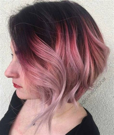 ombre for short fine hair 18 short hairstyles perfect for fine hair wavy bob