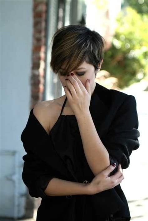 pixie cuts cherry brown 25 pixie cuts 2013 2014 short hairstyles 2017 2018