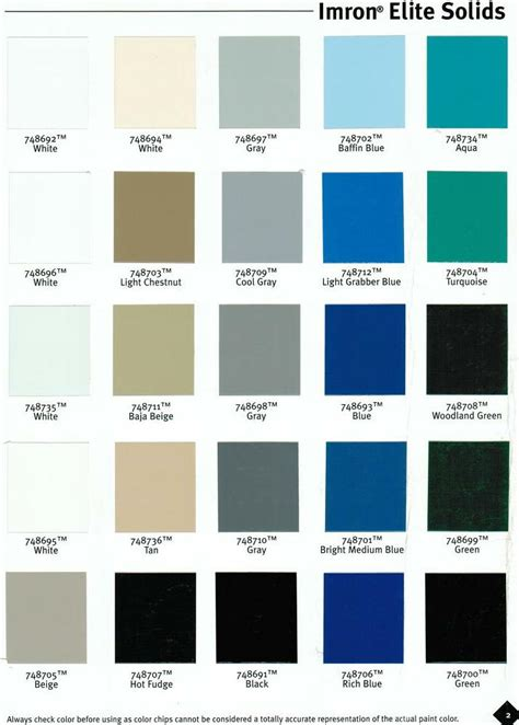 dupont imron color chart pictures to pin on pinsdaddy