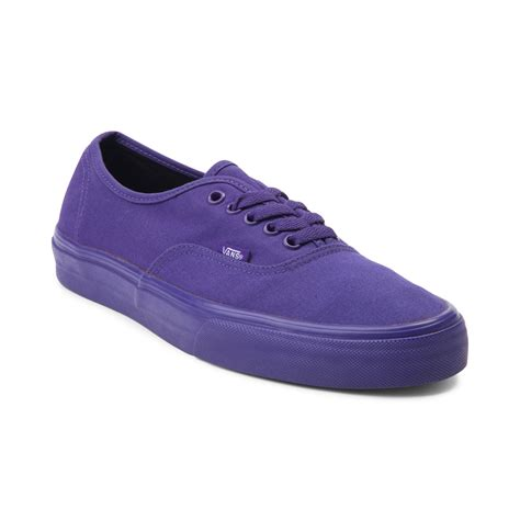 Purple Shoes by Image Gallery Purple Vans