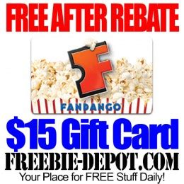 Fandango Gift Card Theaters - last day free after rebate 15 fandango gift card free movie theater admission