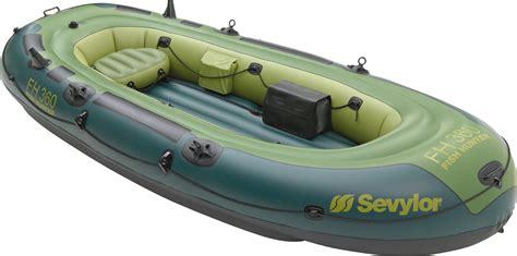 inflatable boat decathlon sevylor fish hunter hf 360 inflatable boat
