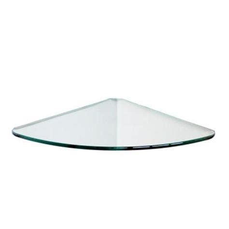 floating glass shelves 1 4 in curve glass corner shelf
