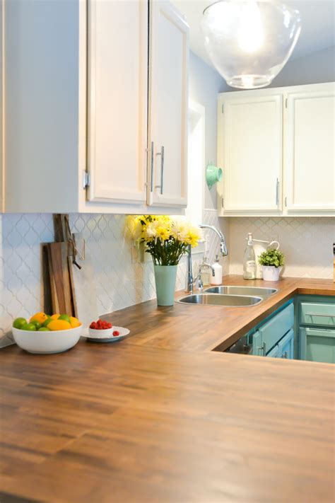 How to Install Butcher Block Countertops   Hey, Let's Make