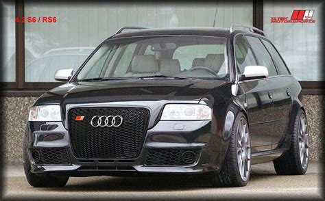 2001 audi a6 grill rs6 kit styling from hofele for audi a6 s6 high