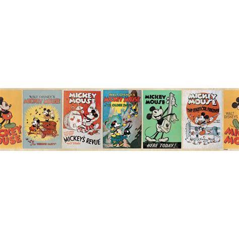 Bande Tapisserie Autocollante by Frise Adh 233 Sive Mickey Vintage Castorama Decoration